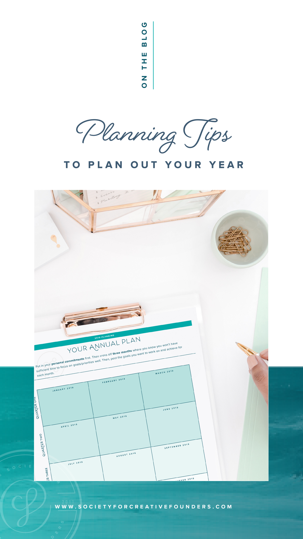 8 Planning Tips to help you plan your Year - Society for Creative Founders