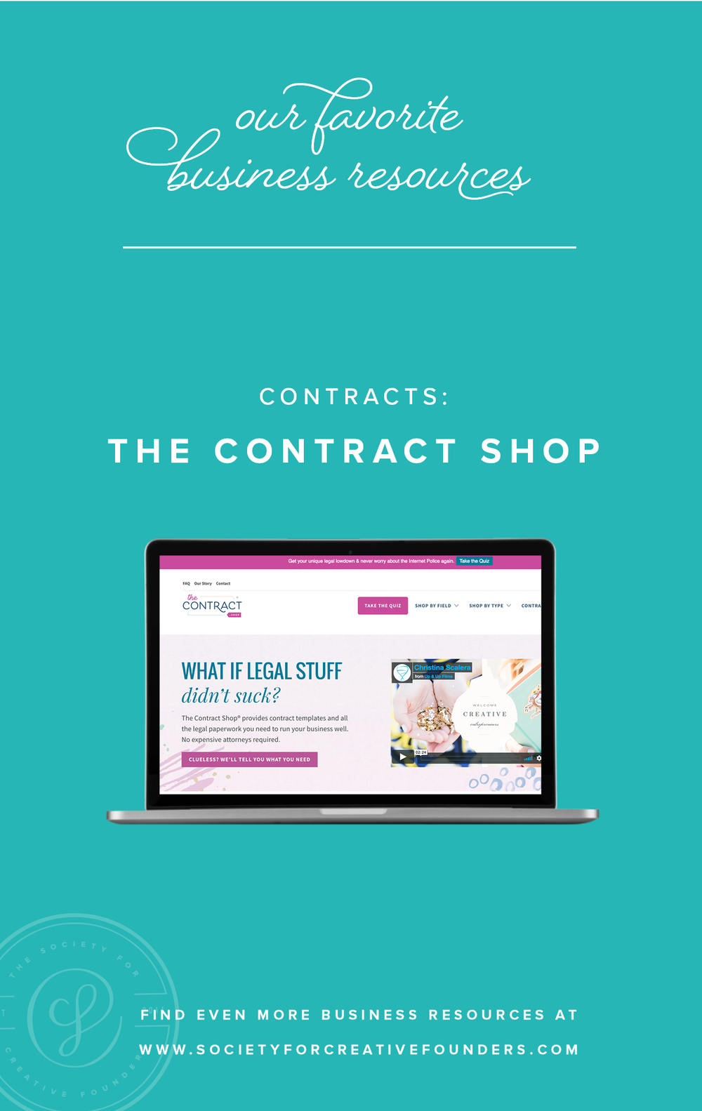 The Contract Shop - Favorite Business Resources from Society for Creative Founders