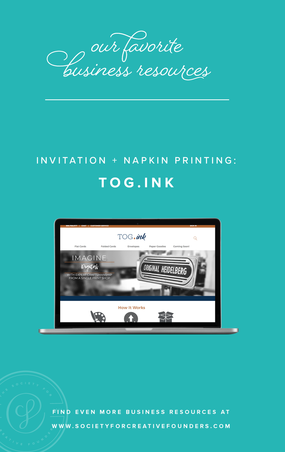 Tog.Ink - Favorite Business Resources from Society for Creative Founders