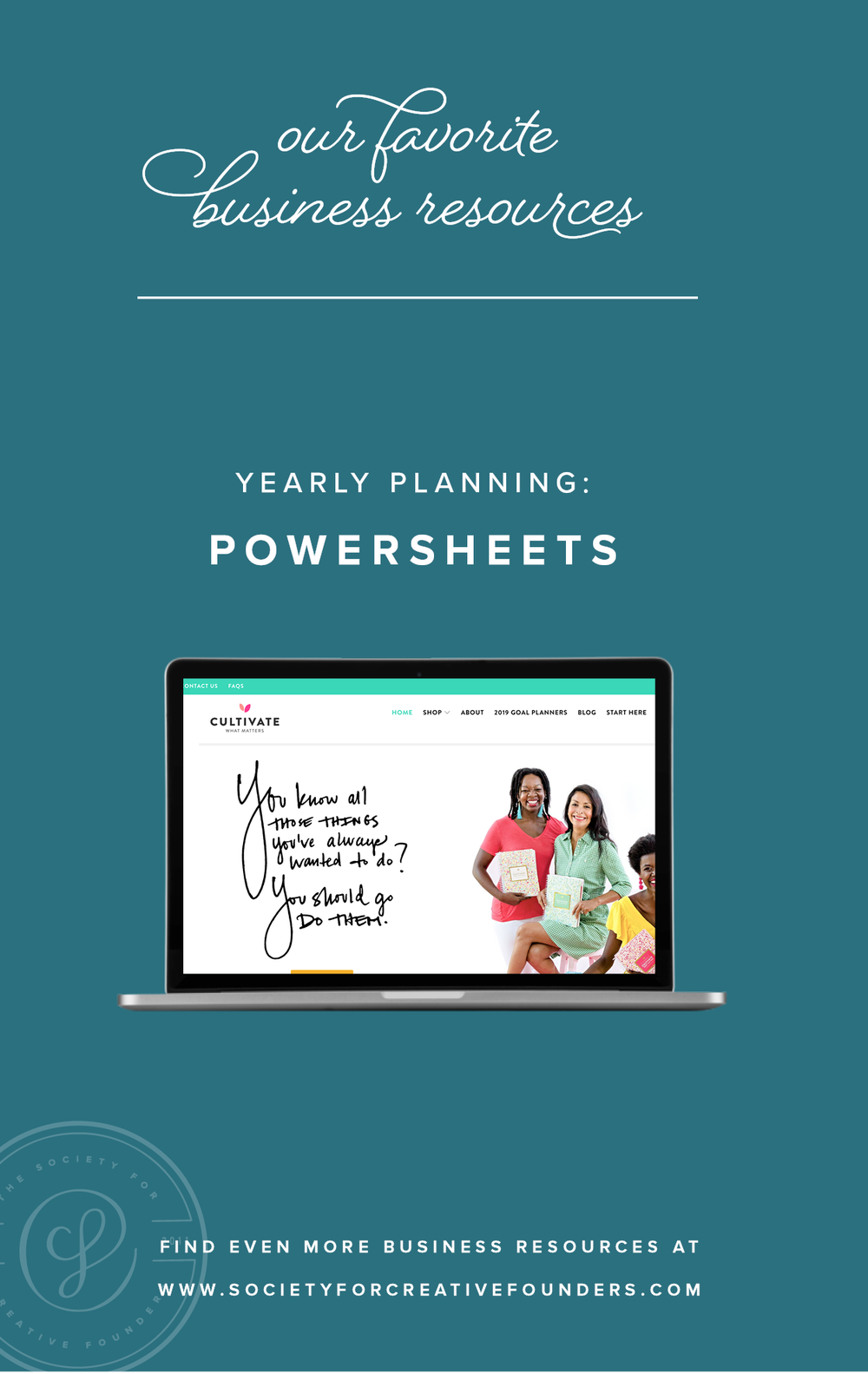 Powersheets - Favorite Business Resources from Society for Creative Founders