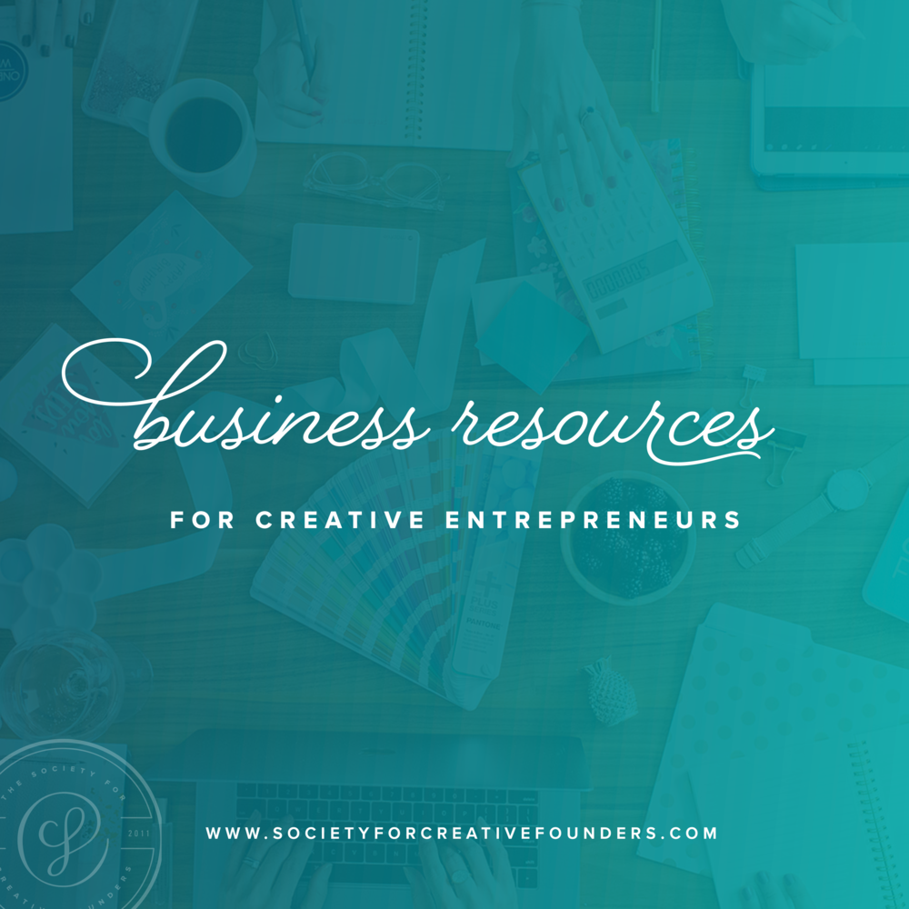 Business Resources from the Society for Creative Founders