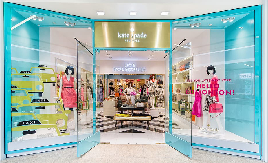 Kate Spade Store - Branding Touchpoint Example