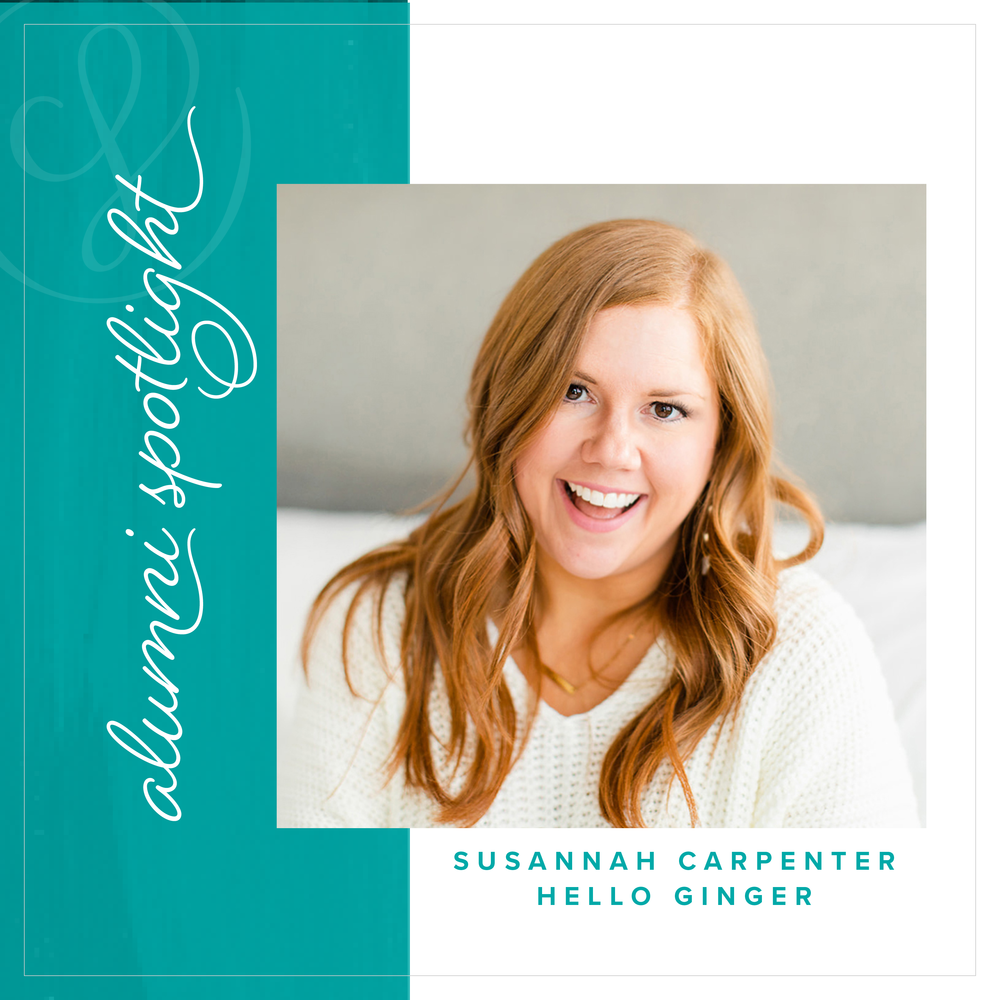 Susannah Carpenter of Hello Ginger - Alumni Spotlight for Society for Creative Founders