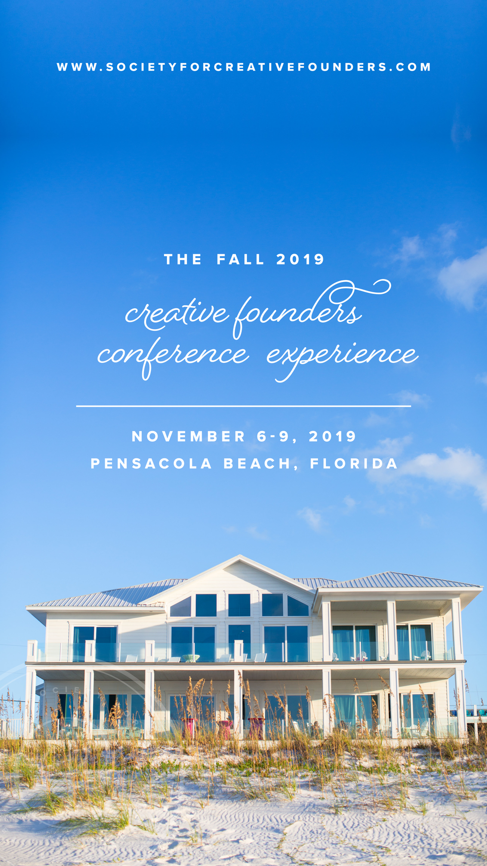 2019 Creative Founders Conference - November 6-9, 2019