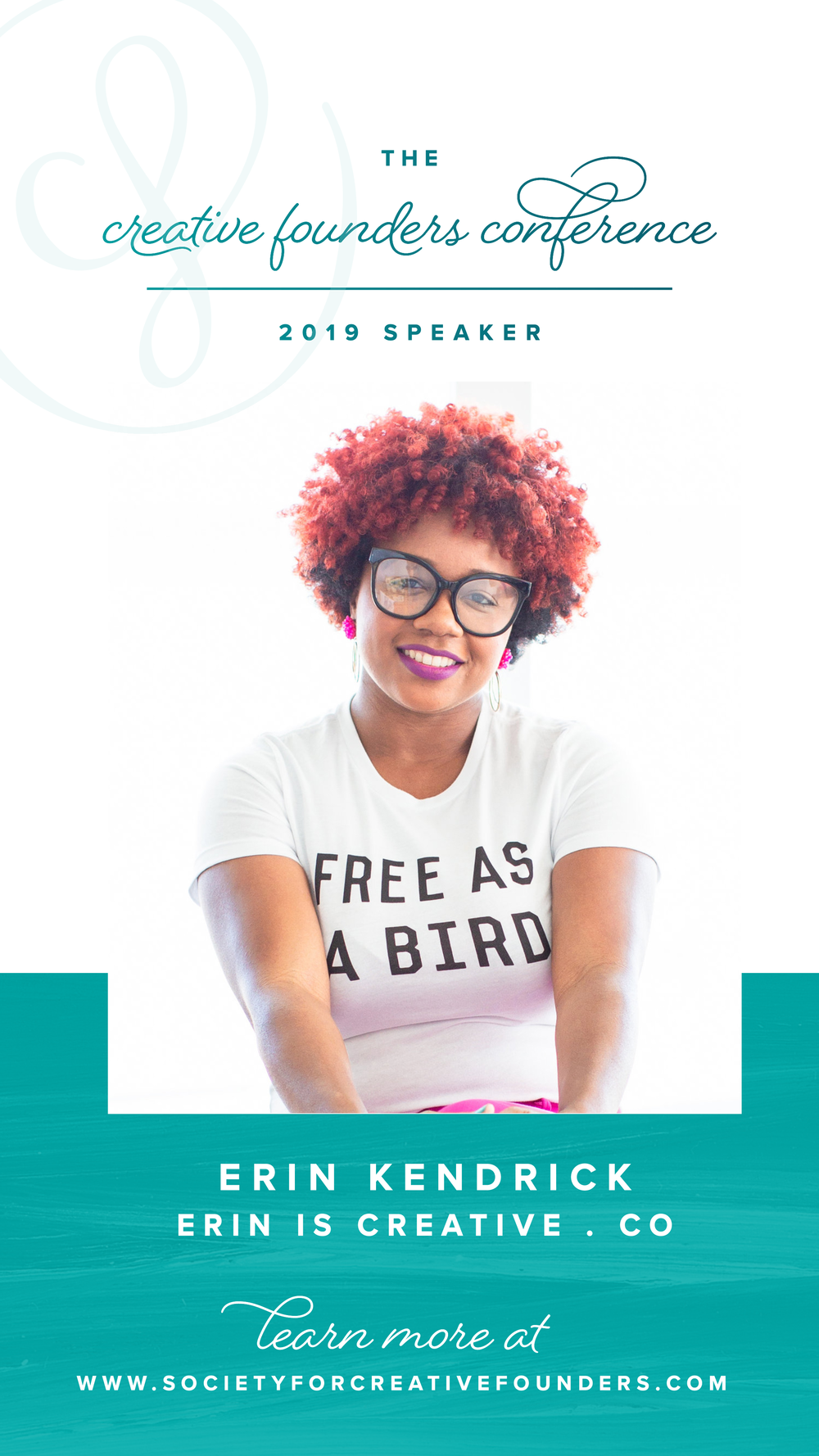 Erin Kendrick of Erin is Creative.Co - Fall 2019 Creative Founders Conference Speaker