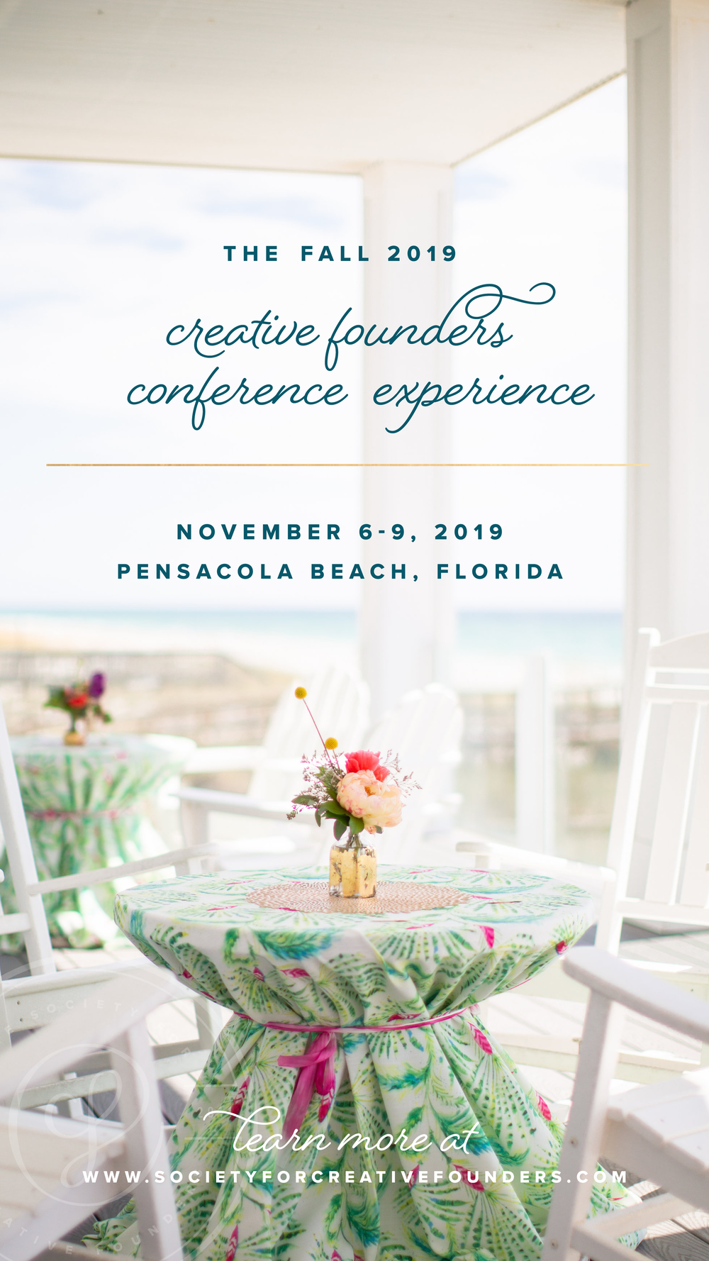 Registration is now open for the Society for Creative Founders 2019 Conference