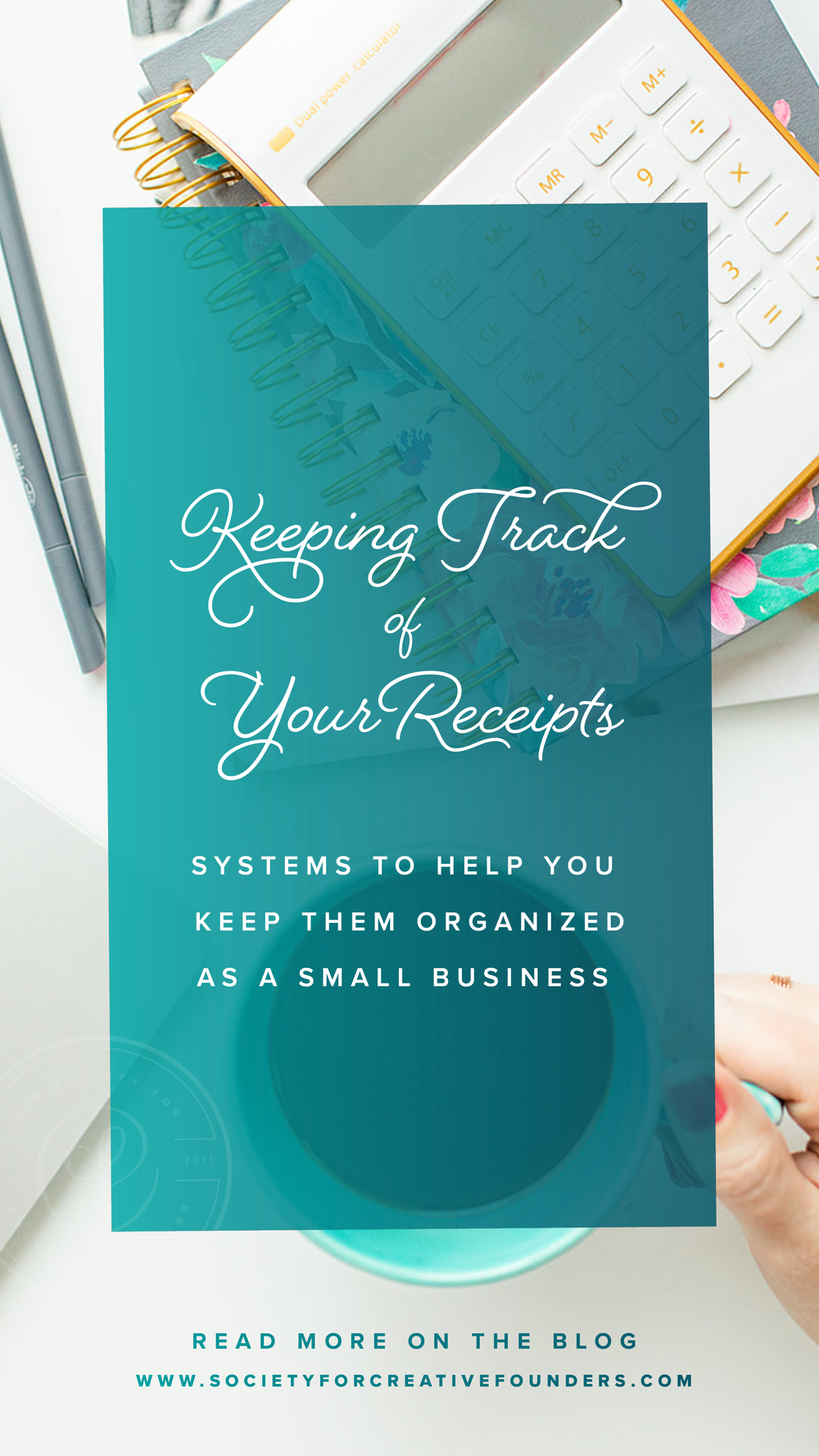 How to Keep Track of Receipts as a small business
