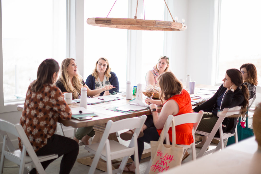 Small Group Sessions at the Creative Founders Conference