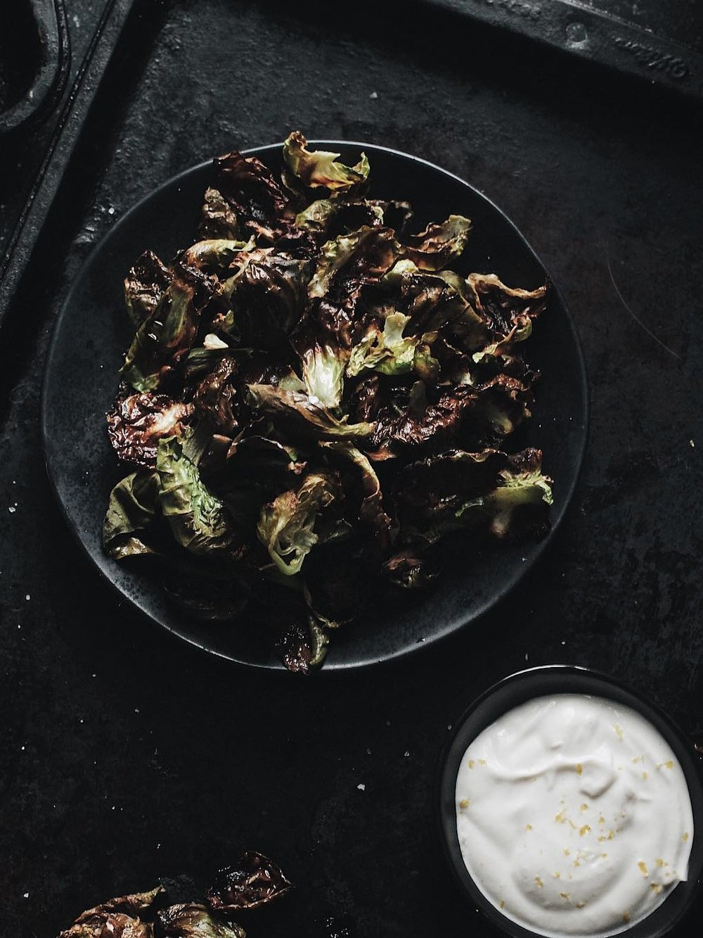 Brussle sprout chips -