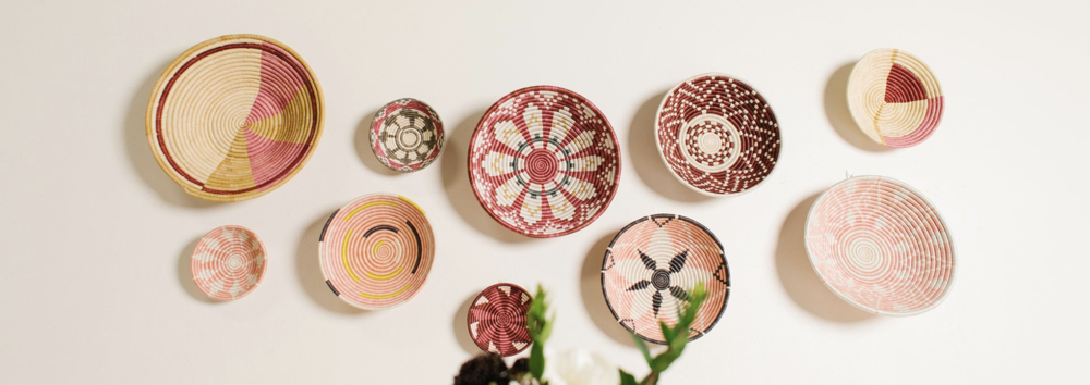 Handwoven Wall Baskets