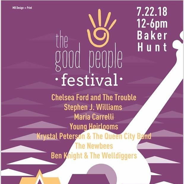 Cincinnati friends, join us this Sunday, Jul 22 at @bakerhuntart in Covington, KY for some good people, good music. Check out that lineup! Hope to see you there.  #covingtonky #covington #cincinnati #livemusic #goodpeoplefestival #goodpeople