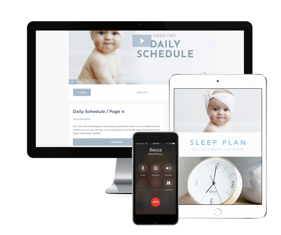 BABY BASIC - INCLUDES:- Ready to watch-Instant Access-Sleep Plan & Video Chapters-Daily Email Encouragement- Five Phone Calls with Becca- Sleep Log Interactive Tracking$397.00