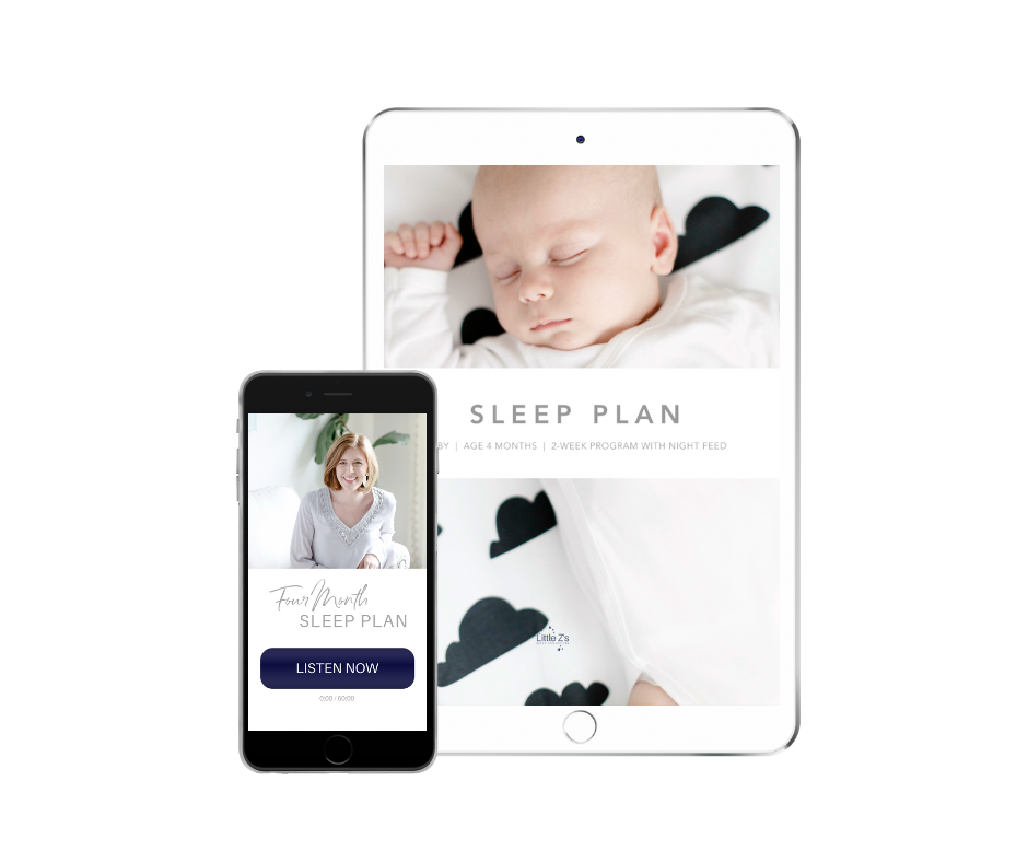 BABY SLEEPE-COACHING™4-5 MONTH OLD - DIY plan for your 4-5 Month Old Baby to have a full night of sleep with 1 night feed, and 3.5-4 hours of daytime naps.$29
