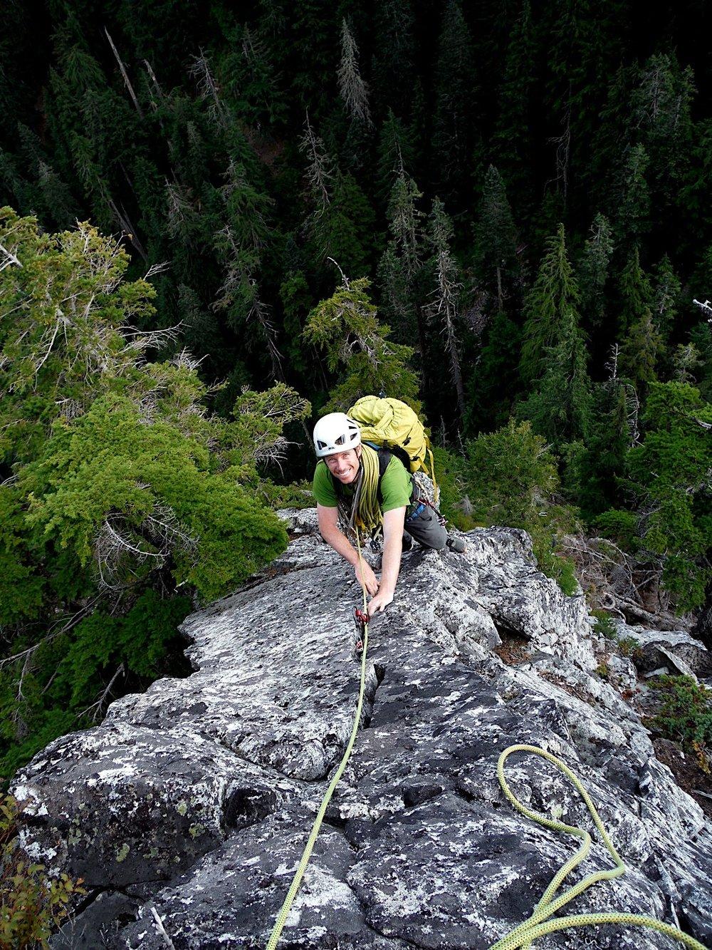 Snoqualmie Rock - Author Photo Kurt Hicks