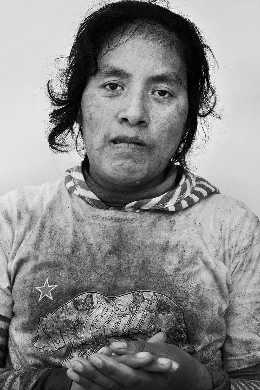 Elvia Reyes, 29, Oaxaca, Mexico.