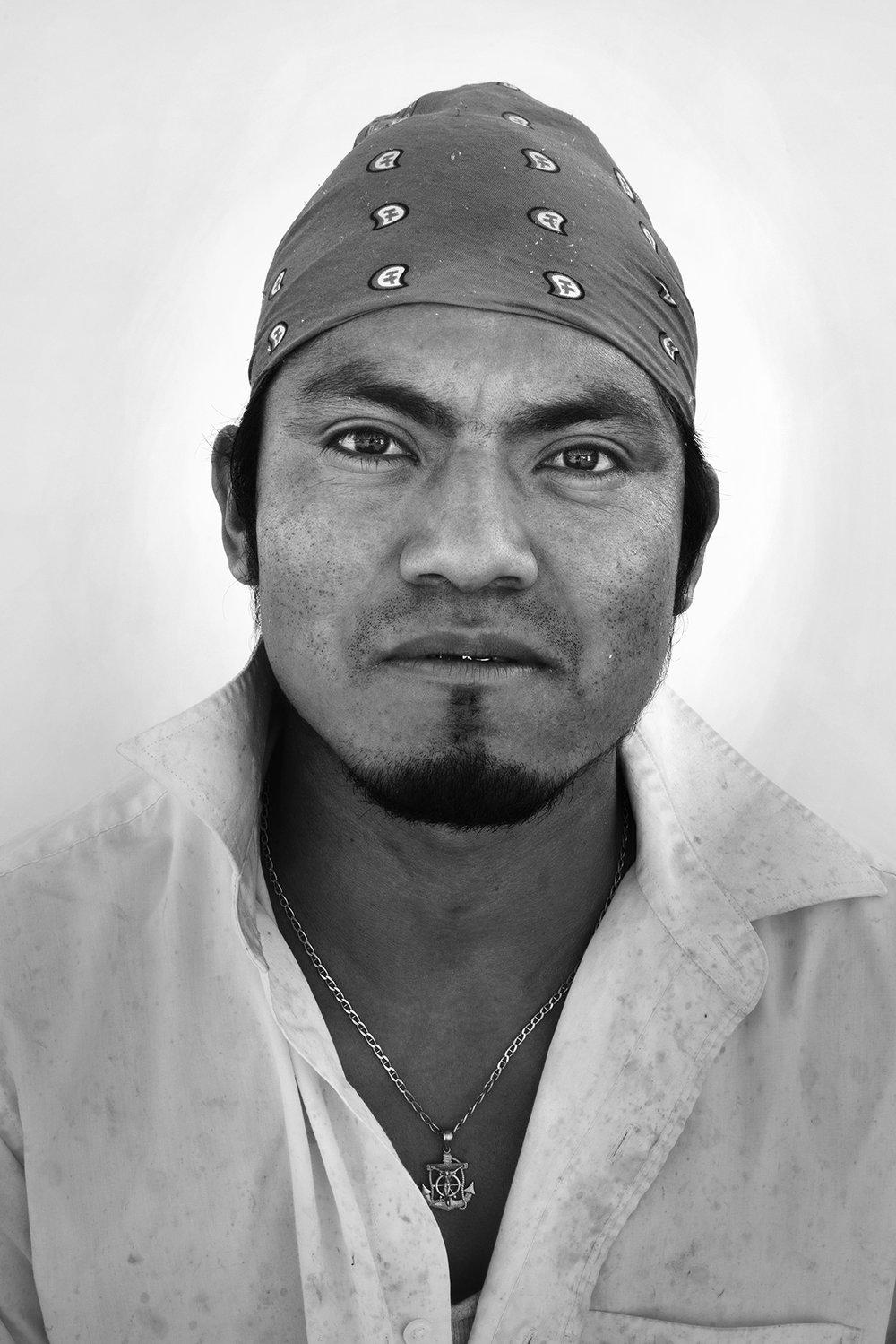 Josimar Ortiz, 25, Oaxaca, Mexico.