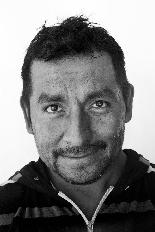 Raymundo Gutierrez, 42, Oaxaca, Mexico.