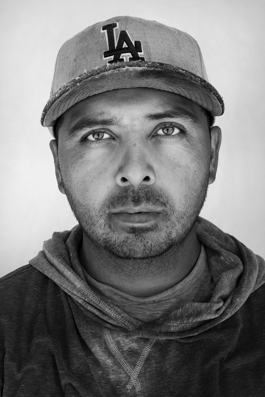 Jesus Luna, 34, Guanajuato, Mexico.