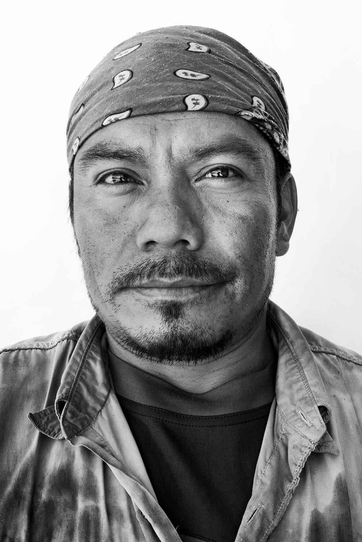 Lorenzo Carrasco, 40, Oaxaca, Mexico.