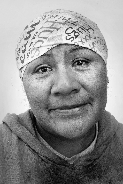 Maria Perez, 35, Oaxaca, Mexico.