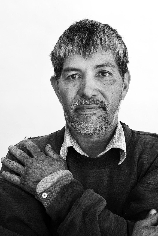 Jose Ordaz, 58, Michoacán, Mexico.