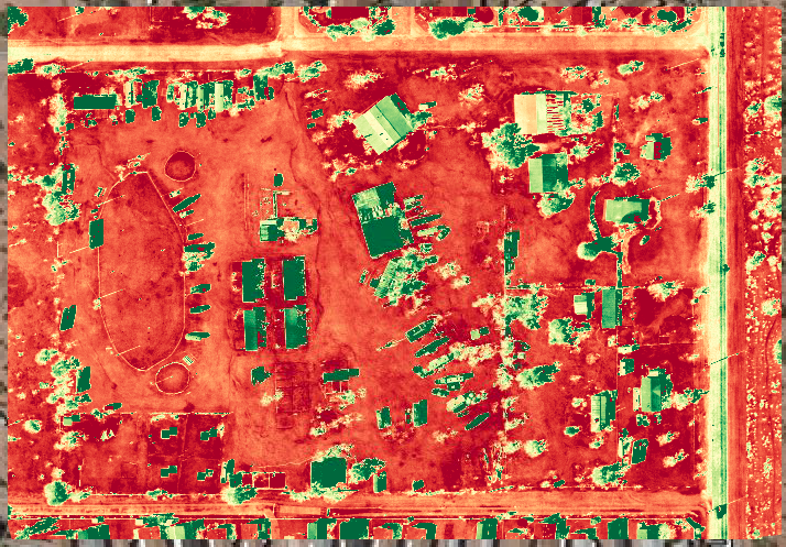 PLANT HEALTH MAPPING - Plant Health is a set of tools specifically targeted towards agriculture. The main purpose of these tools is to allow you to explore your agricultural data even more deeply. Using this tool, you can adjust the contrast to highlight variability (and hence problem areas) within a field. Once you have identified the relevant NDVI ranges, the thresholding tool lets you quantify damage and predict yields by showing the area within an NDVI range.