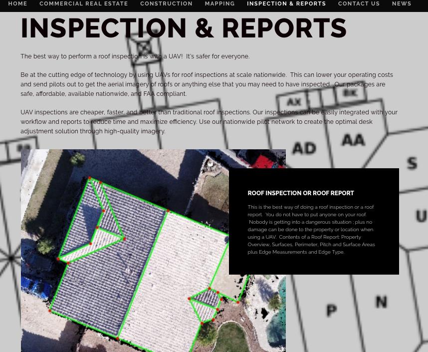 PREMIER UAV AERIAL INSPECTION & REPORT SERVICES