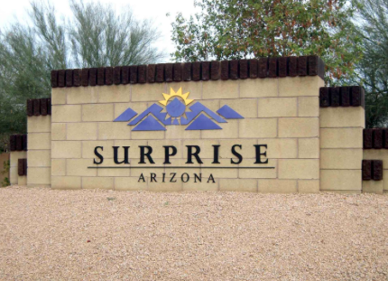 SURPRISE ARIZONA