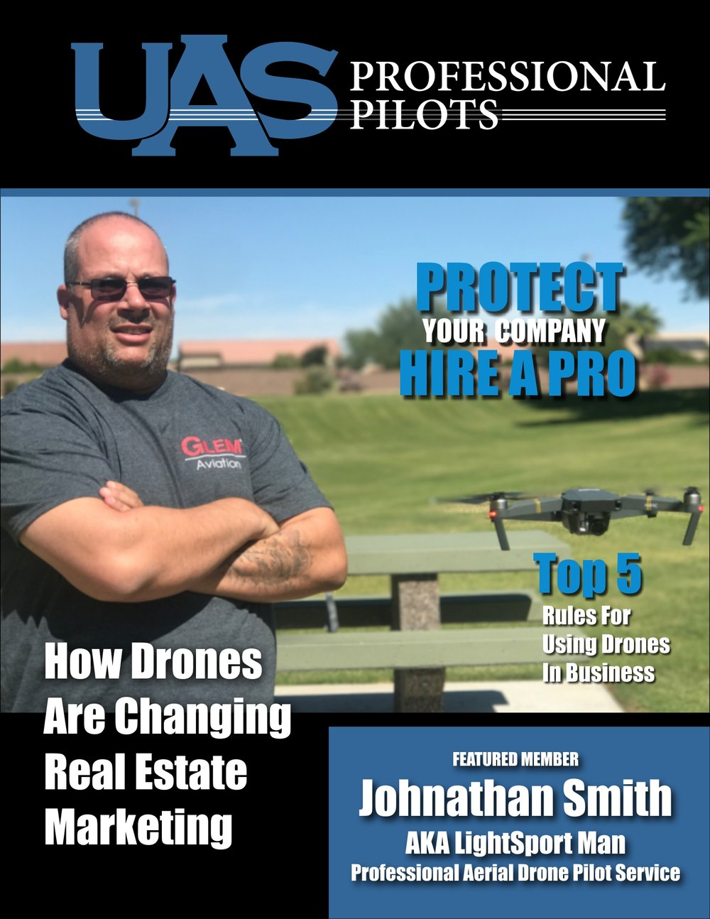 UAS PROFESSIONAL PILOT LIGHTSPORT - PROTECT YOUR COMPANY