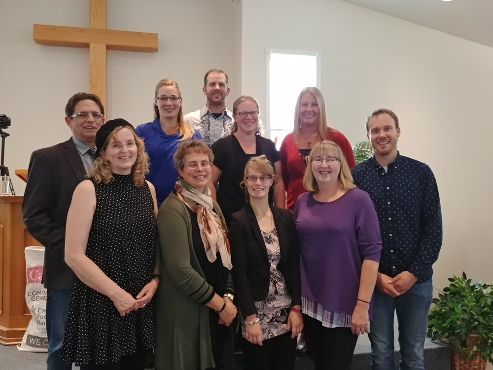 Worship Team from Edson-Peers CRC.