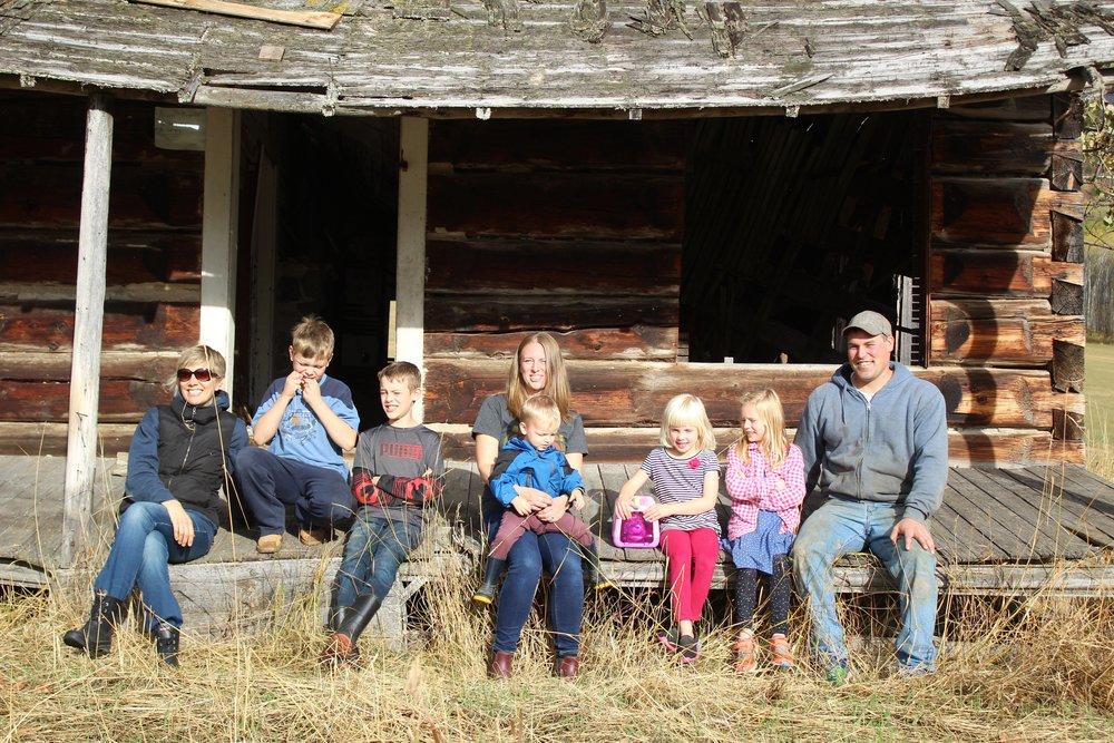 At the Koopmans' original homestead…