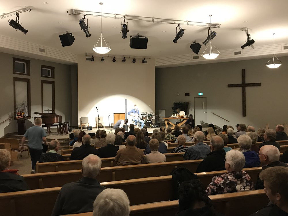 Jer's concert in Smithers…