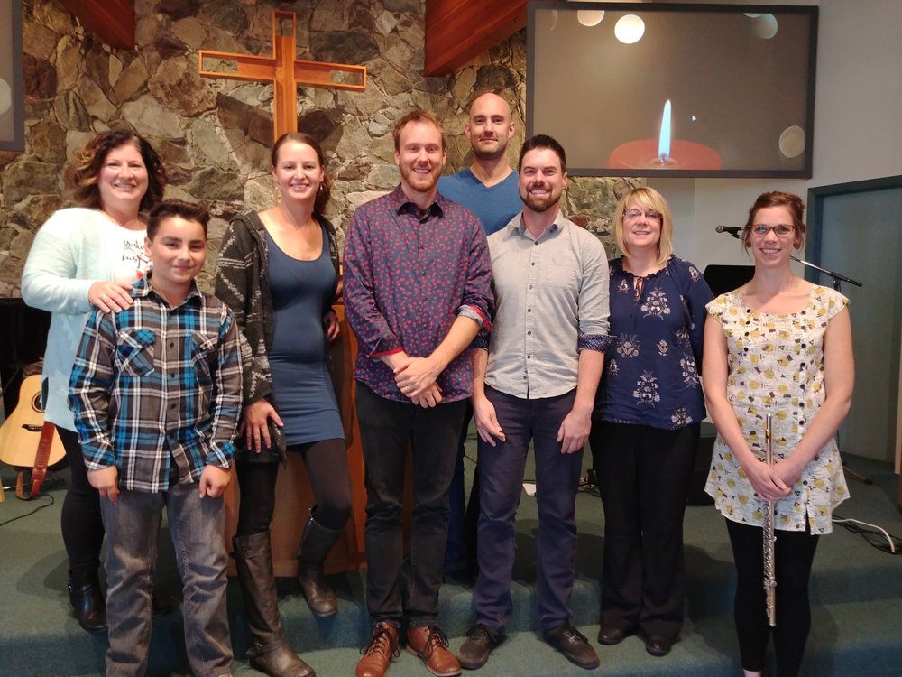 Worship Team from Terrace CRC.