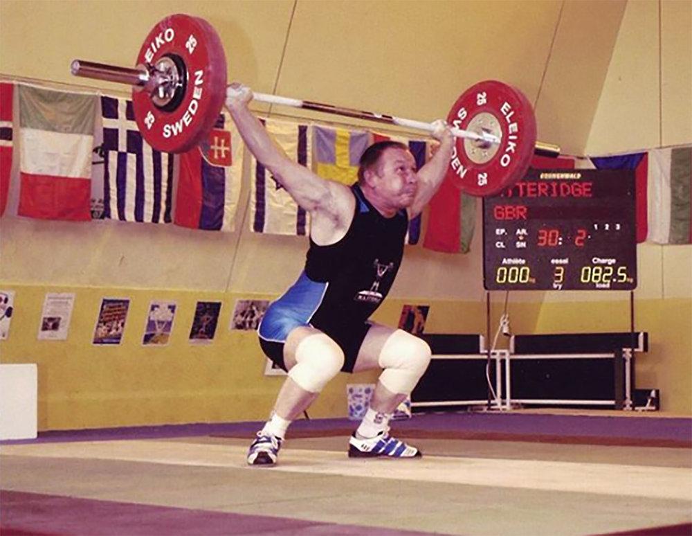 Pat at 60kg bodyweight
