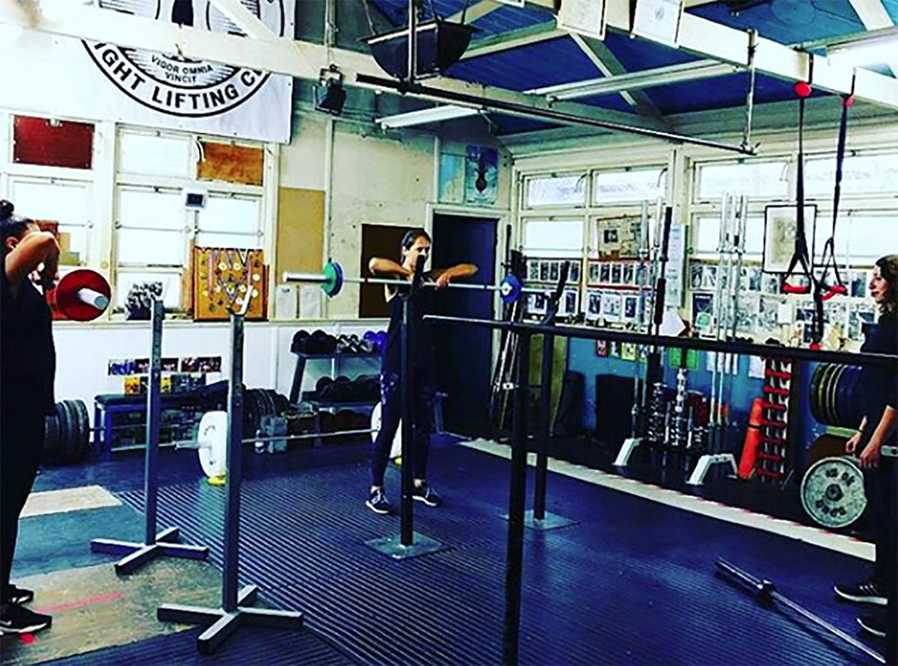Hackney Olympic Weightlifting Club London Introduction to Barbells Women Only