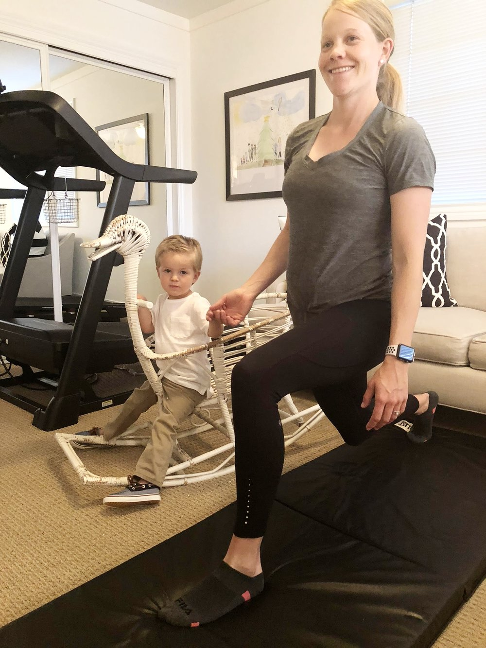 Facebook Mom's workout