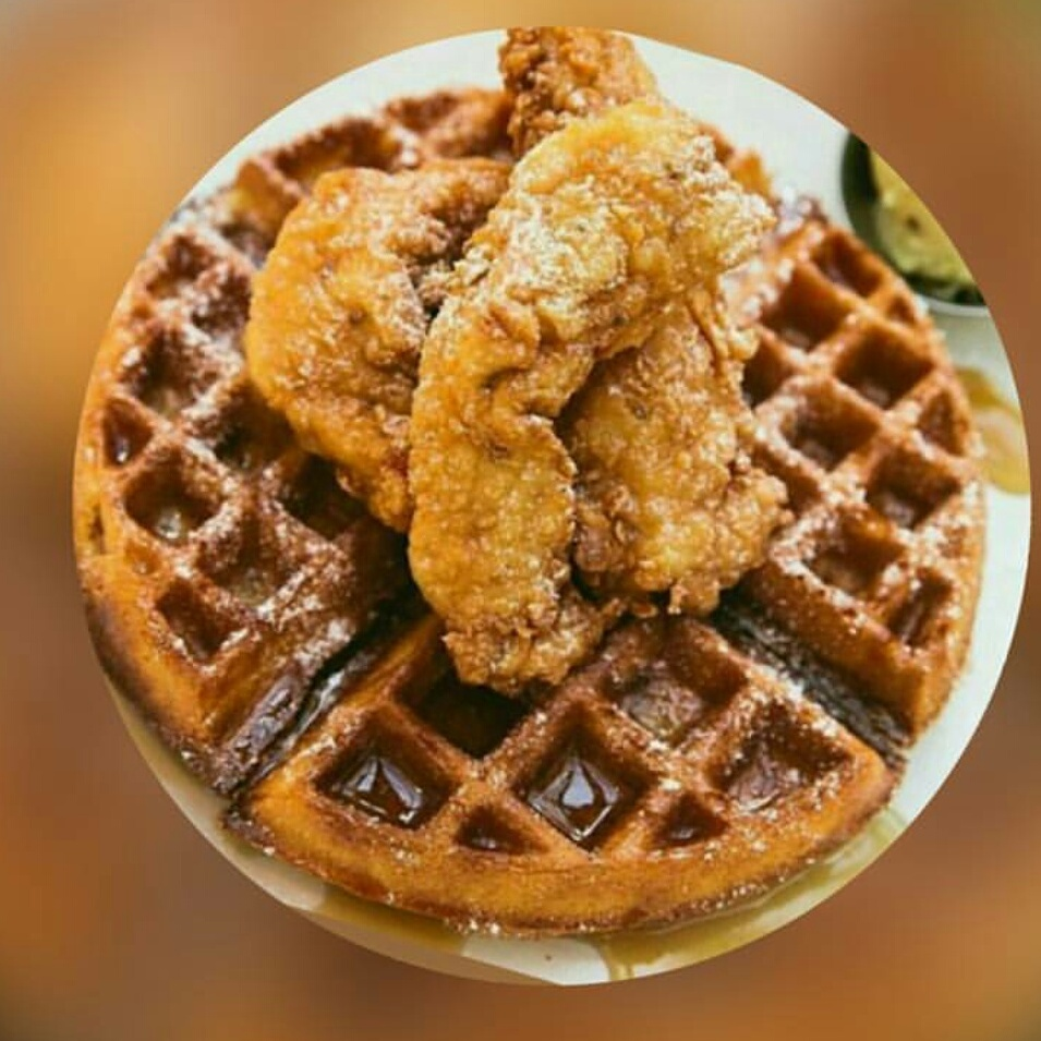 Chicken and Waffles food image from The Juke House