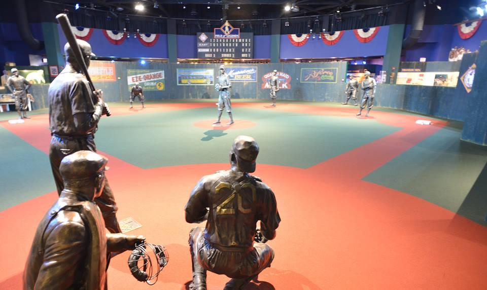 Inside the Negro League Baseball Museum