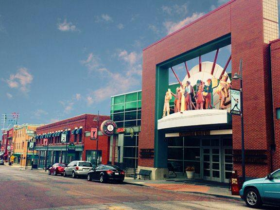 Front of the American Jazz Museum