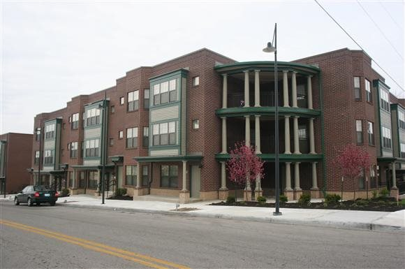 Jazz District Apartments - Outside of the apartment complex