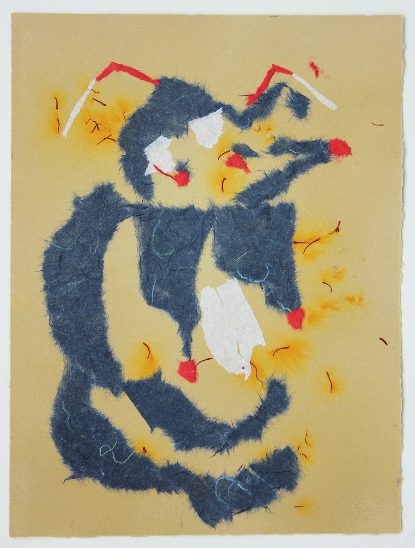 Bleu Mami (Saffron Print)