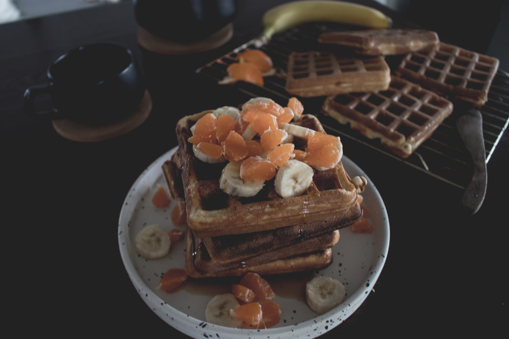 Vegan Belgium Waffles