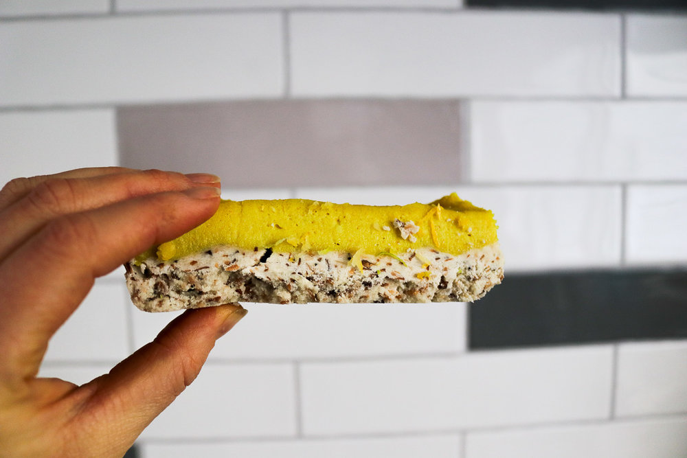Vegan Lemon Slice | Healthy Eating habits AMAZING