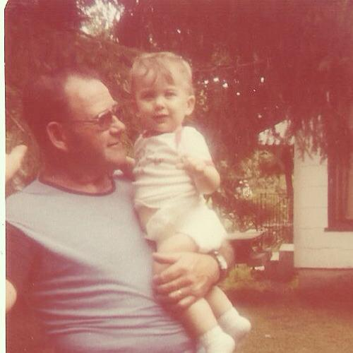 My sweet Pappy with his J.J.