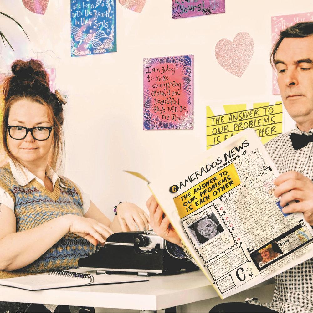 Dotty Delightful & Kane Dodgson, the dappa vintage Story Dept.