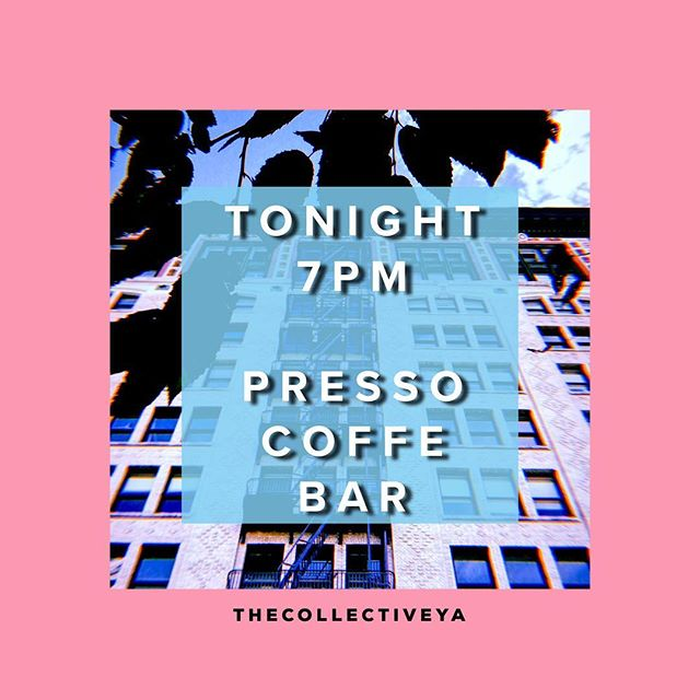Its Tonight! We have a Special Guest who will be performing a few songs from his New Album come Gather and enough Good music Coldbrew/Kombucha and amazing company