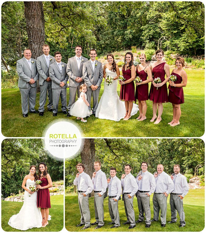 Minnesota Wedding Photography - Jack and Chelsey - Bridal Party Portraits