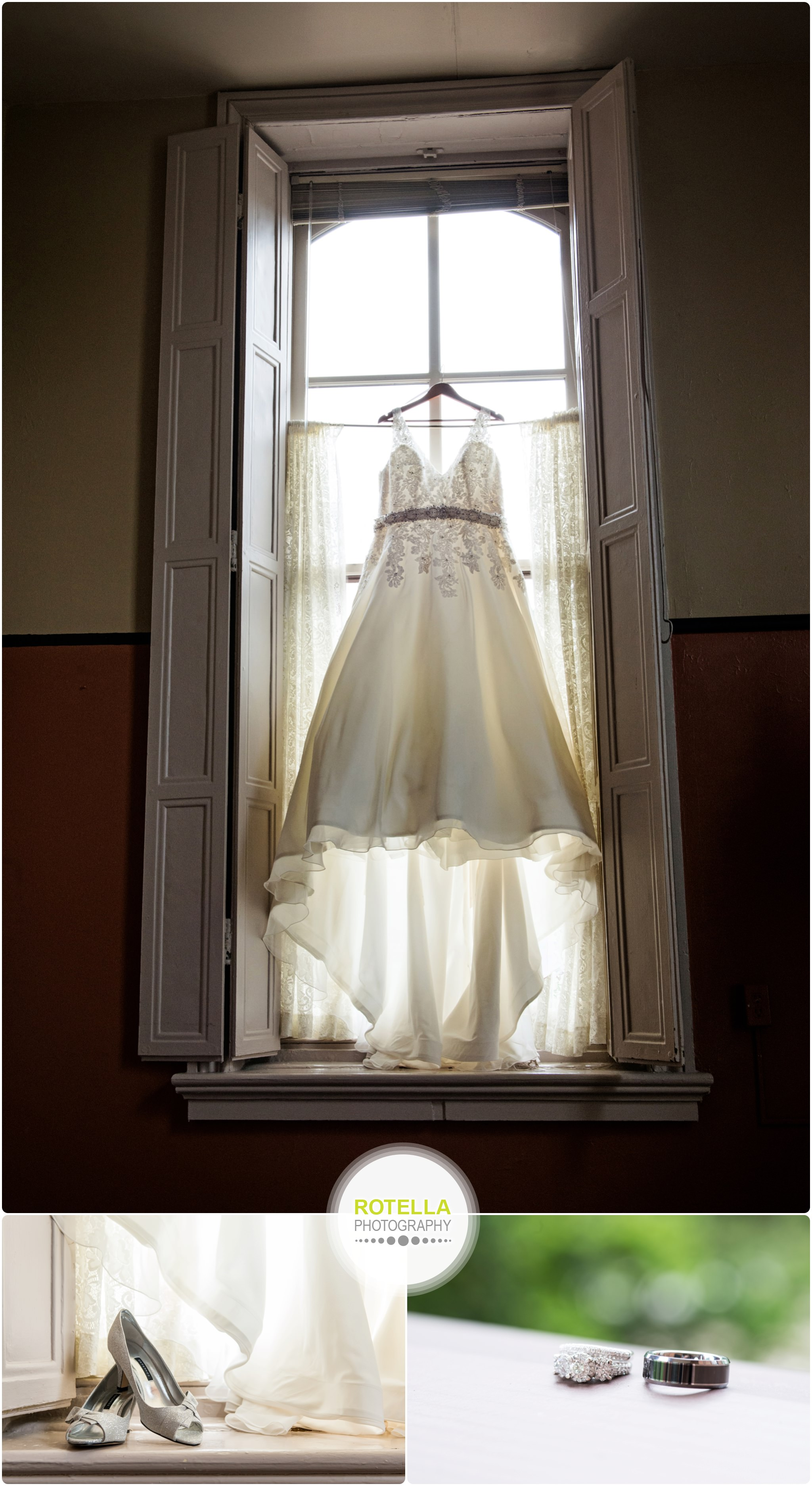 Wedding Dress, A Stillwater MN Wedding