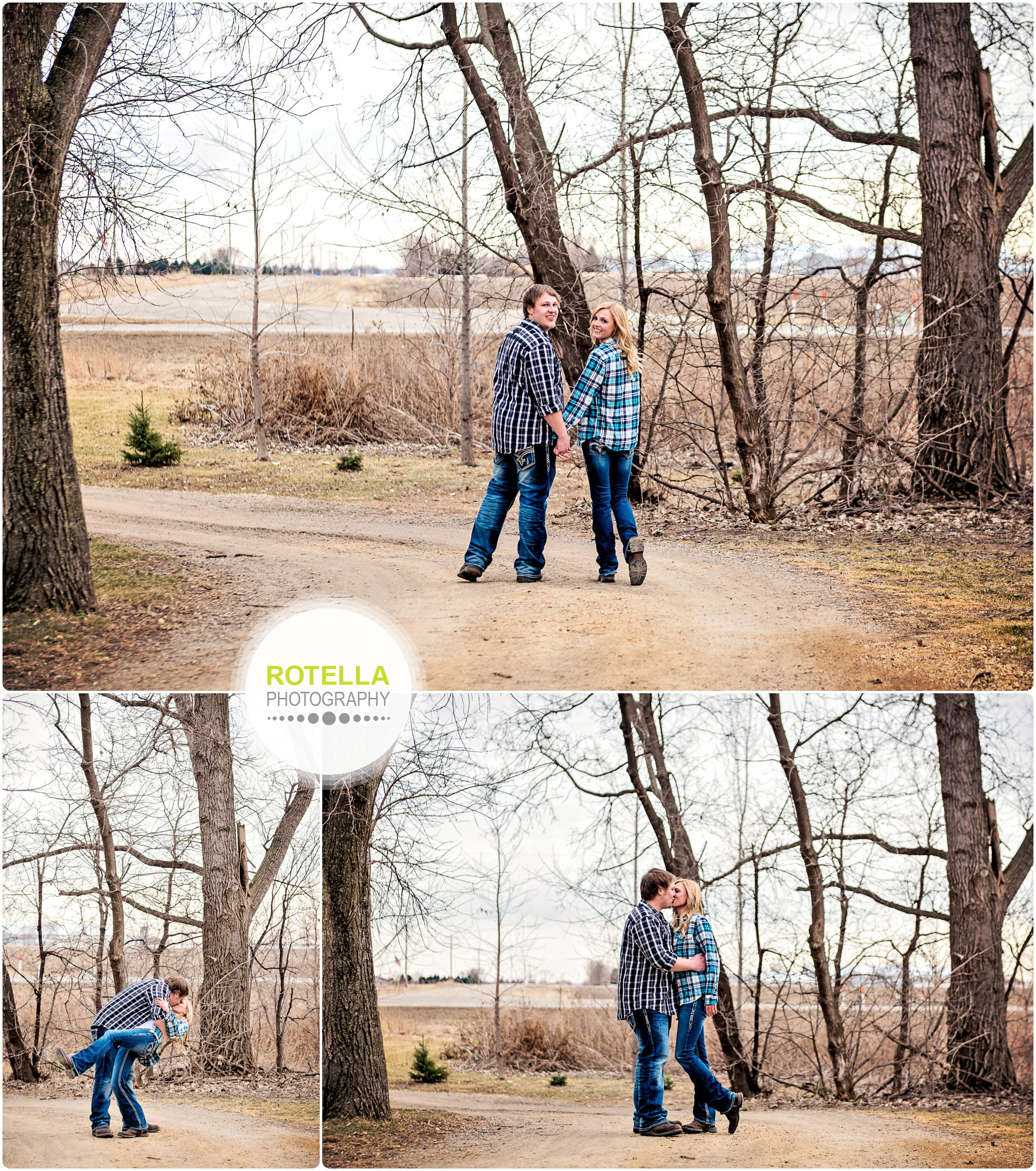 Hastings, MN Engagement Session at a barn