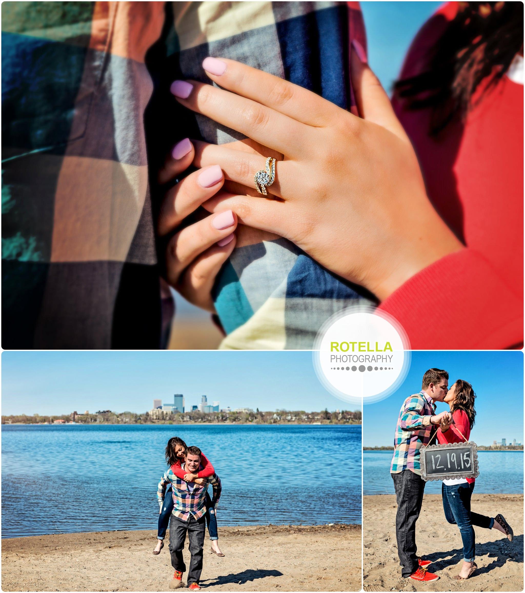 Minneapolis Engagement Photography at Lake Calhoun